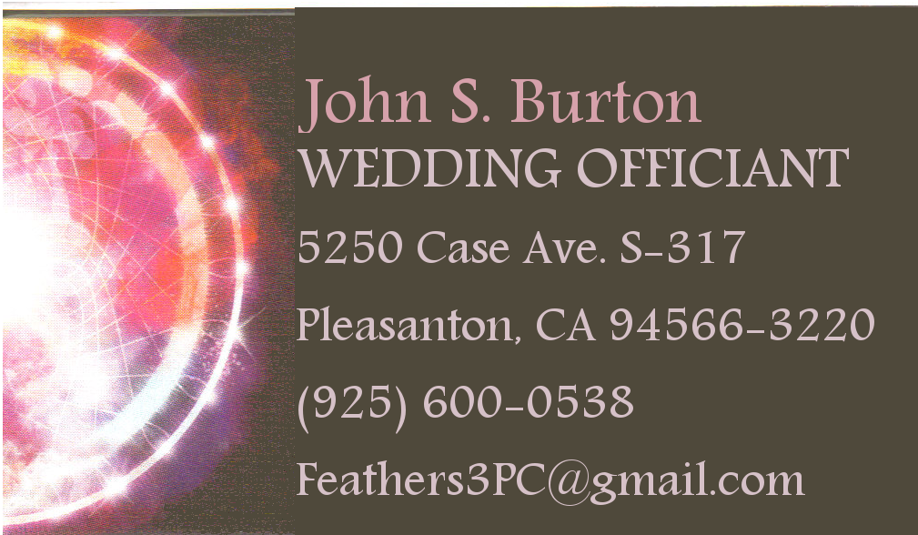 John Burton Wedding Officiant